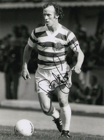Bobby Lennox, Glasgow Celtic Lisbon Lions, signed 8x6 inch photo.